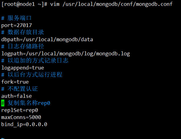 搭建mongoDB replSet副本集群